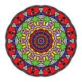 Jaźni sztuka koronki wypełniać z wieloskładnikowymi kolorami royalty ilustracja
