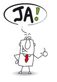 Ja royalty free stock image