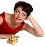 Ja chcieć czekoladę Zdjęcia Royalty Free