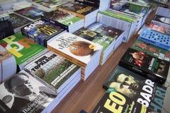Ja czytelnicze książki Fotografia Stock