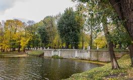 Chodzić w parku Fotografia Royalty Free