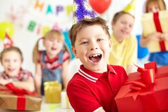 Ja jest mój urodziny Zdjęcia Stock