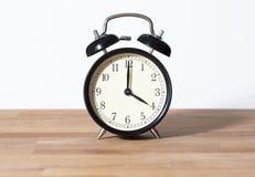 Ja jest 4:00 o ` zegarem Obraz Royalty Free