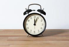 Ja jest 0:04 o ` zegarem Fotografia Royalty Free