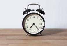Ja jest 7:23 o ` zegarem obrazy stock