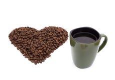 Ja kocham kawę Obraz Stock