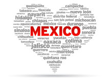 ja kocham Mexico Fotografia Stock