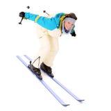 ja kocham narciarstwo Zdjęcia Royalty Free