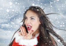 ja kocham śnieg Obraz Royalty Free