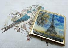 ja kocham Paris zdjęcie stock