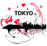 ja kocham Tokyo Obraz Royalty Free