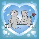 Ja kocham ty! Zdjęcie Royalty Free