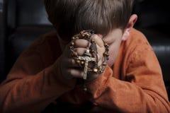 Ja modli się Zdjęcia Stock