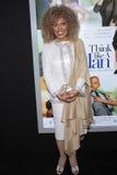 Ja'net DuBois bij het Pan-African Festival van de Film   Royalty-vrije Stock Afbeeldingen