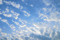 jaśnieje niebo Obrazy Royalty Free