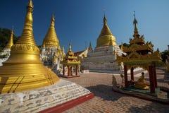 Ja Nu Ok Kyaung monaster Obrazy Royalty Free