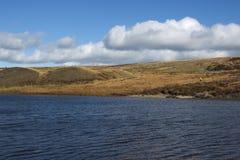 Jałowy moorland w dobrej pogodzie Fotografia Royalty Free