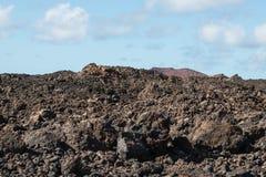 Jałowy Powulkaniczny krajobraz Obraz Royalty Free