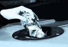 Jałowy rozdzielenie - metal zdjęcia royalty free