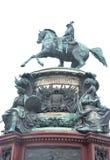 ja pomnikowy Nicholas Obrazy Royalty Free