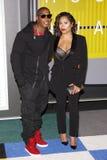Ja Rule and Aisha Atkins Stock Images