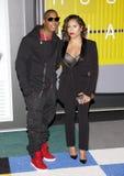 Ja Rule and Aisha Atkins Stock Photos