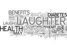 Ja S dowcipu Żadny śmiech Jest Wspaniałym medycyny słowa chmury pojęciem royalty ilustracja