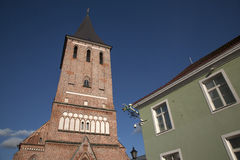 Jaani Church, Tartu Stock Images