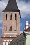 Jaanikerk, Tartu Stock Foto's