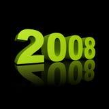 Jaar 2008 Royalty-vrije Stock Afbeeldingen