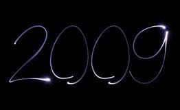Jaar 2009 vector illustratie