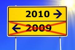Jaar 2010 Stock Foto