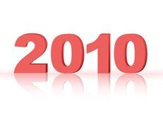 Jaar 2010 Stock Fotografie