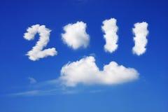 Jaar 2011 Stock Foto's