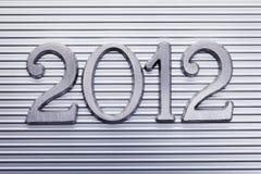 Jaar 2012 Royalty-vrije Stock Foto