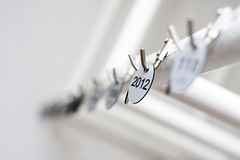Jaar 2012 Stock Fotografie