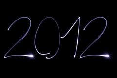 Jaar 2012 vector illustratie