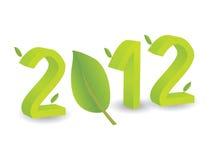 Jaar 2012 in 3D Stock Afbeeldingen