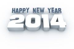 Jaar 2014 Stock Afbeelding