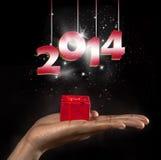 Jaar 2014 Royalty-vrije Stock Afbeelding