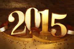 Jaar 2015 Stock Foto