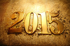 Jaar 2015 Royalty-vrije Stock Afbeelding