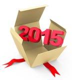 Jaar 2015 Stock Afbeelding