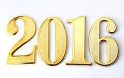 Jaar 2016 Royalty-vrije Stock Fotografie