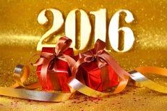 Jaar 2016 Stock Foto's
