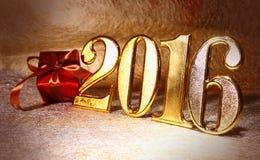 Jaar 2016 Stock Fotografie