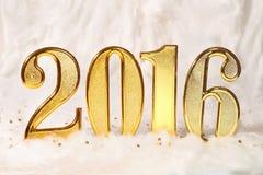 Jaar 2016 Stock Afbeelding