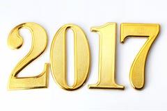 Jaar 2017 Royalty-vrije Stock Foto