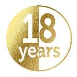 18 jaar Royalty-vrije Stock Foto