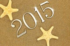Jaar 2015 aantallen Stock Afbeelding
